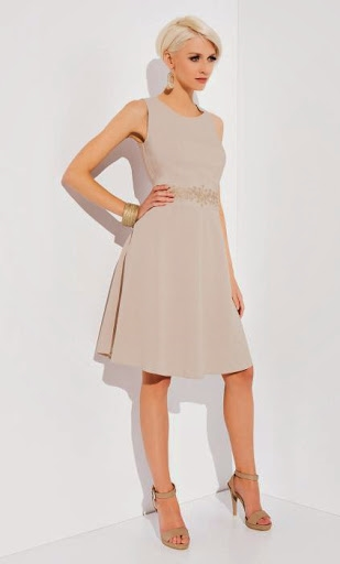 9d2696c3306c Бежевое платье с вышивкой купить платья польша