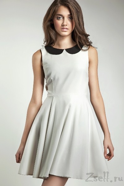Платье а силуэт повседневное