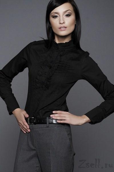 01d0aae861b рубашка с воротником-стойкой в интернет магазине в Москве