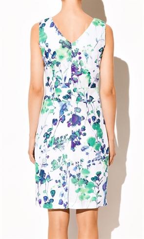 Нежное платье с цветочным принтом - фото 10325