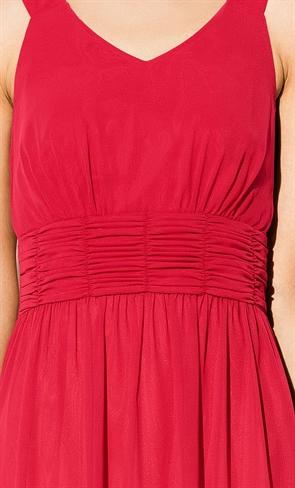 Платье на вечер красное - фото 10564