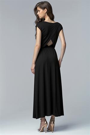 Длинное черное платье на вечер - фото 10693