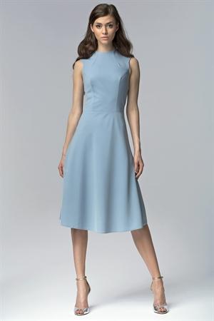 Голубое платье - фото 10694