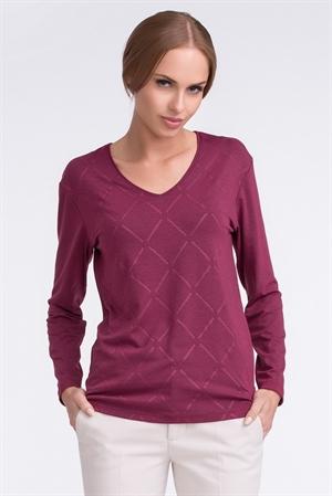 Строгий свитерок с ромбами - фото 10795