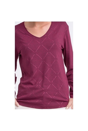 Строгий свитерок с ромбами - фото 10907
