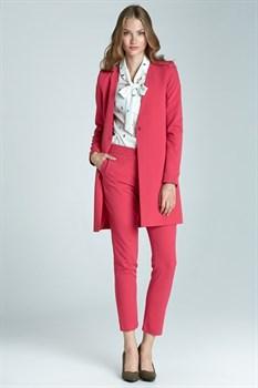 Розовый женский пиджак NIFE - фото 11039