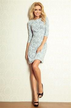 Коктейльное платье облегающего фасона - фото 11206