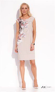 Платье с необычным принтом Zaps - фото 11372