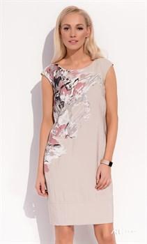 Платье с необычным принтом Zaps - фото 11373