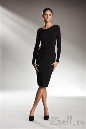 Лаконичное платье с длинным рукавом - фото 19