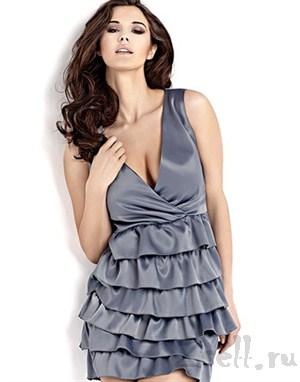 Стильное кокетливое платье - фото 43