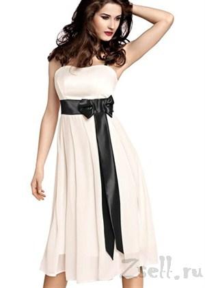 Чувственное шифоновое платье  - фото 51