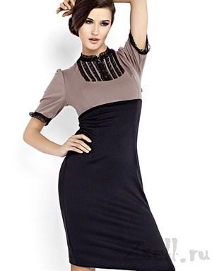 Простое и экстравагантное платье - фото 81