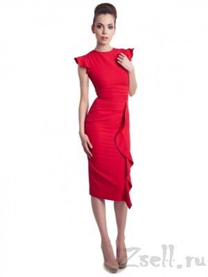 Очаровательное красное платье - фото 98
