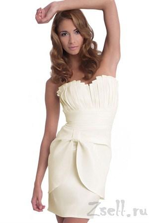 Коктейльное платье с шикарной драпировкой - фото 158