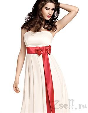 Чувственное шифоновое платье - фото 169