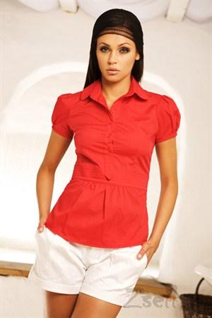 Рубашка поло приталенная - фото 258