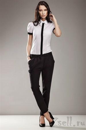 Зауженные брюки, цвет серый - фото 338
