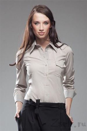 Рубашка белая классическая - фото 647