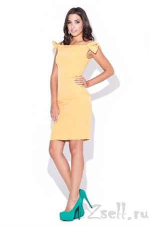 Коктейльное кокетливое платье - фото 1440