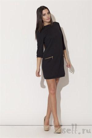Платье туника, цвета аквамарин - фото 2076