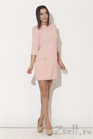 Короткое платье-туника - фото 2078