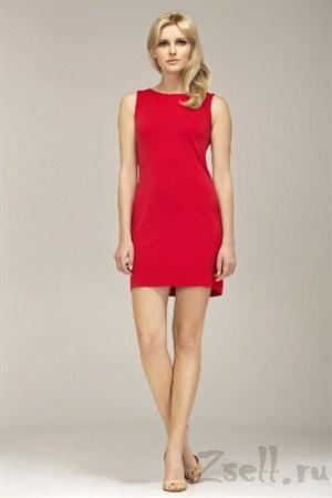 Красное маленькое платье - фото 2292