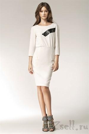 Белое платье на каждый день - фото 2474
