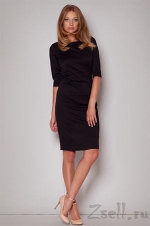 Романтичное черное платье - фото 2589