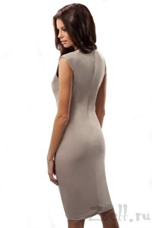Элегантное платье футляр - фото 3068
