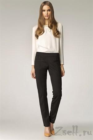 Стильные черные брюки - фото 3292