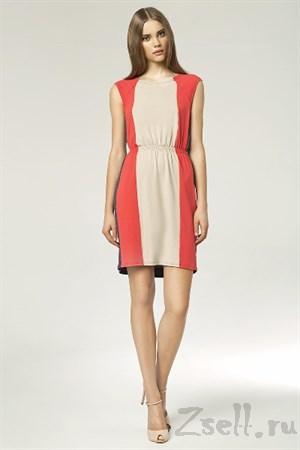 Платье в полоску на каждый день - фото 3455