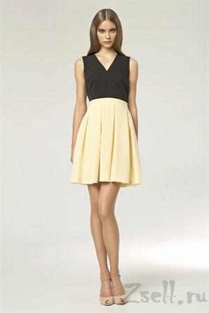 Яркое платье А силуэта - фото 3471