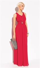 Платье на вечер красное