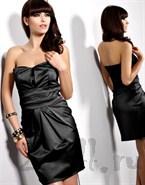 Женственное платье корсетного типа