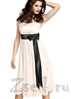 Чувственное шифоновое платье