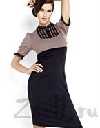 Простое и экстравагантное платье
