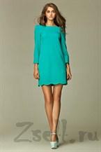 Платье туника с удлиненным  рукавом