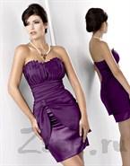 Коктейльное платье с шикарной драпировкой