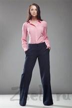 Стильные широкие брюки, цвет гранат