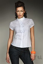 Блуза на лето белая