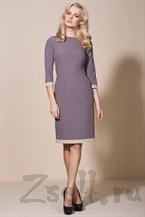 Утонченное платье, цвета мокко