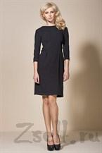 Черное платье - тюльпан