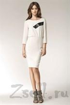 Белое платье на каждый день