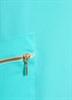 Платье туника, цвета аквамарин - фото 10308