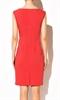 Приталенное красное платье - фото 10315