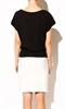 Модная черная блуза - фото 10497