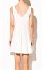 Белое романтичное платье А силуэта - фото 10607