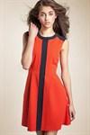 Повседневное платье с вертикальной полосой - фото 107