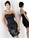Коктейльное платье с шикарной драпировкой - фото 162